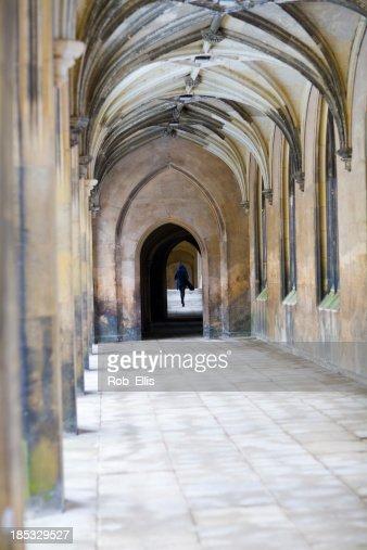 St Johns College corridor