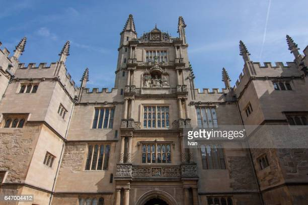 St. John's Quad, Magdalen College, Oxford, Oxfordshire, England, United Kingdom, Europe
