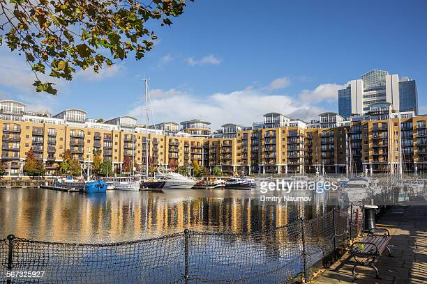 St Katharine Docks in London