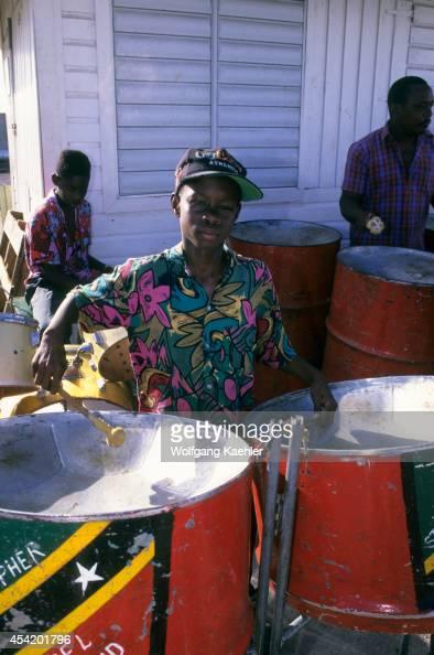 St Kitts Basseterre Steel Band Boy