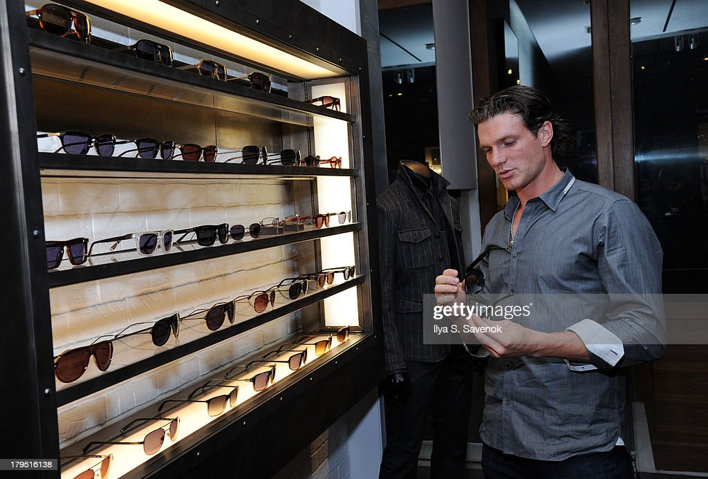 St. Louis Blues captain David Clarkson attends John Varvatos event as part of 2013 NHL/NHLPA Player Media Tour on September 4, 2013 in New York City.