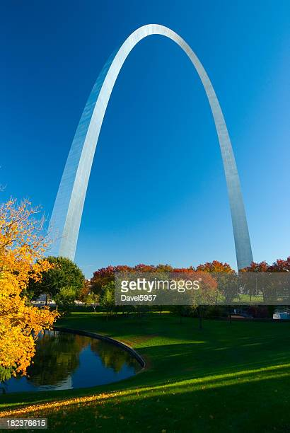 St. Louis Gateway Arch during Fall