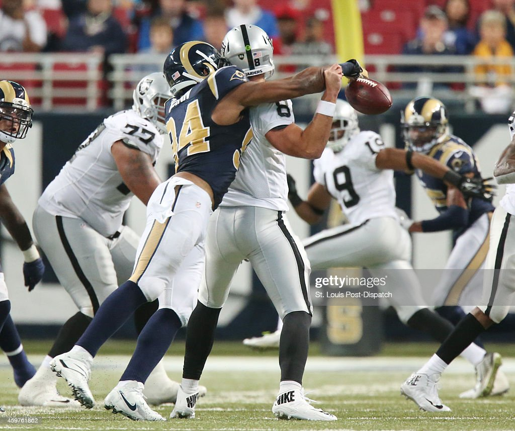 Oakland Raiders at St Louis Rams