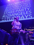 """St Lucia celebrates the Abercrombie Fitch """"The Making of a Star"""" Spring Campaign Party in Hollywood CA on February 22 2014"""