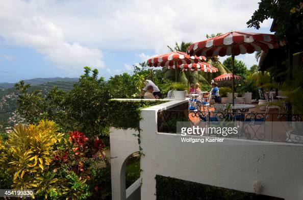 Green Parrot Restaurant St Lucia