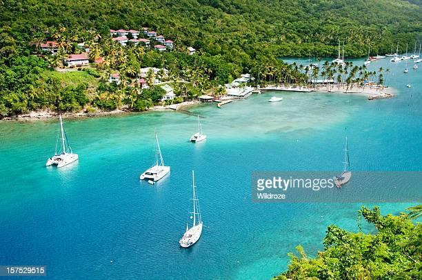 St. Lucia's Marigot Bay