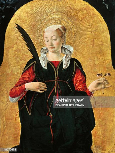St Lucy by Francesco del Cossa Washington National Gallery Of Art
