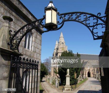セントマーカー大聖堂、アバディーン、スコットランド