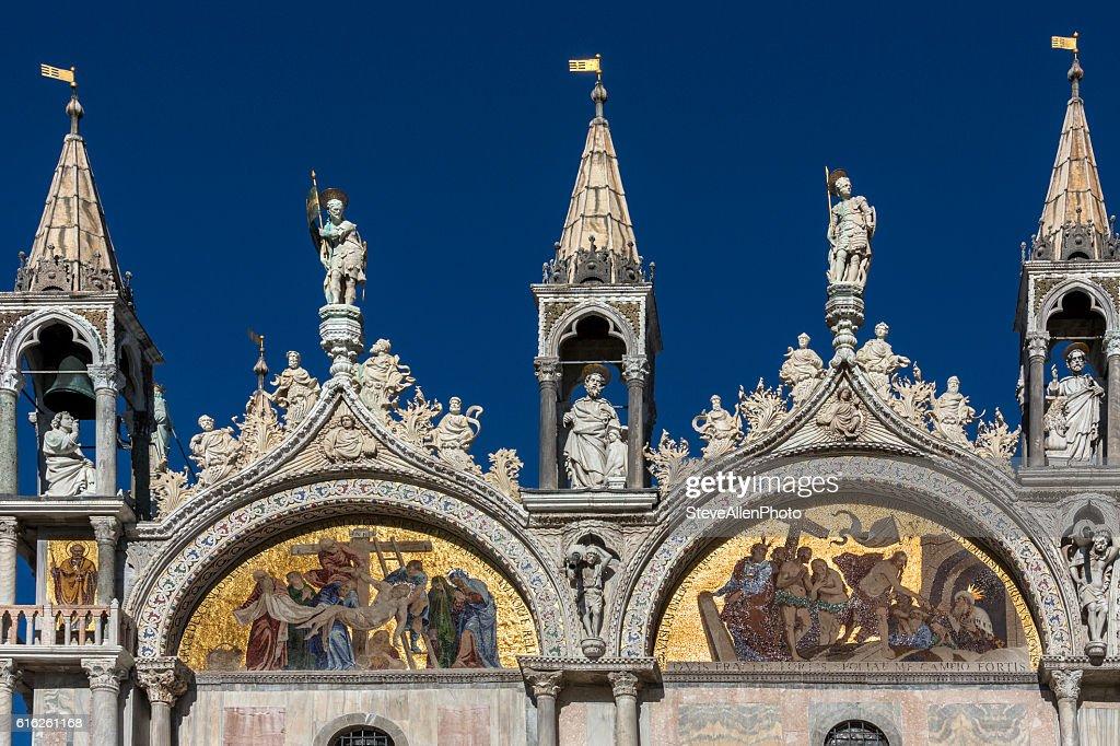 St Mark's Basilica - Venice - Italy : Foto de stock