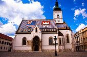 St Mark's Church in Zagreb