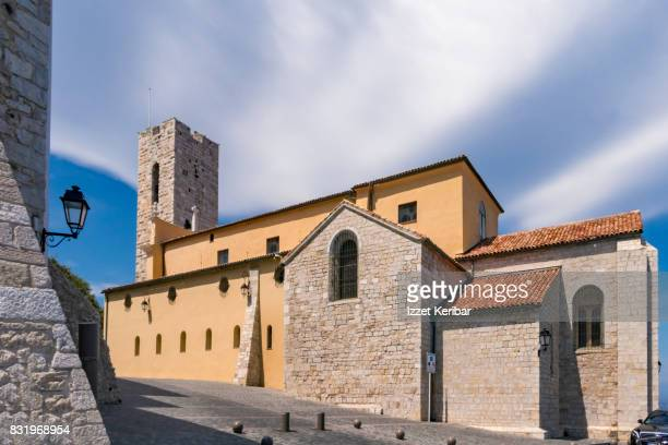 St Mary Cathedral at Antibes, Aples Maritimes, France