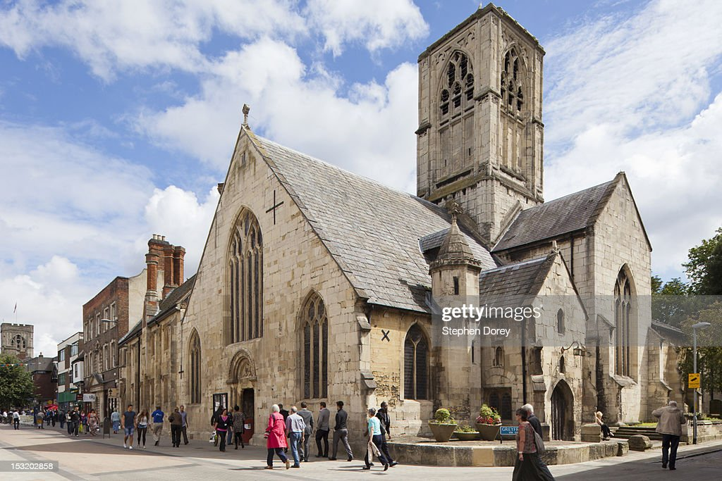 St Mary de Crypt Church, Gloucester, UK : Stock Photo