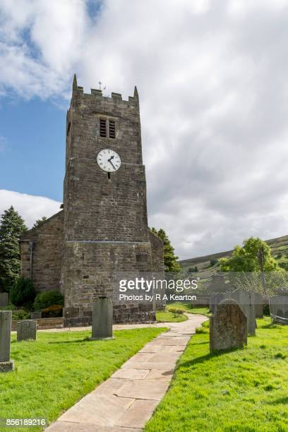 St Mary's church, Muker, Swaledale, North Yorkshire, England