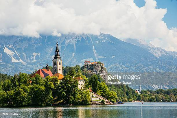 St. Mary's Church on Bled Lake, Slovenia