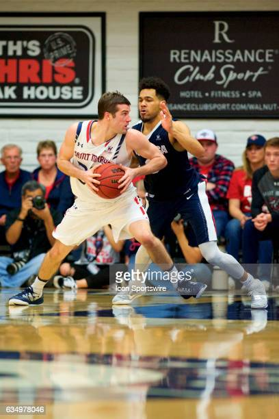 St Mary's Gaels forward Dane Pineau posts up on Gonzaga Bulldogs forward Johnathan Williams during the first half of the game between the Cougars and...