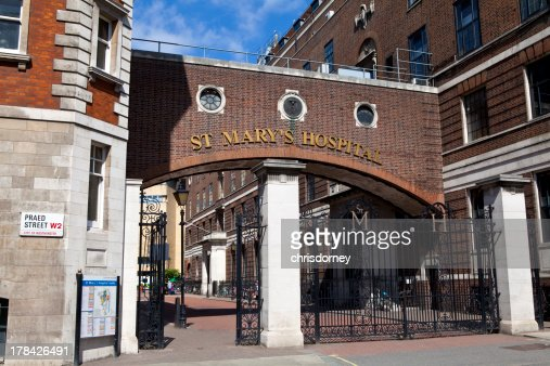 St. Mary's Hospital di Paddington, Londra : Foto stock