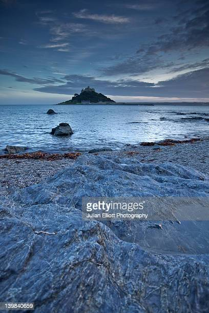 St Michael's Mount, Cornwall, England, UK.