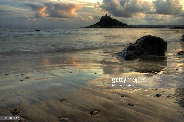 St Michael's Mount sunset