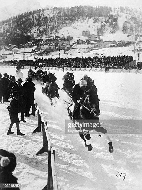 St Moritz Snow Horse Race