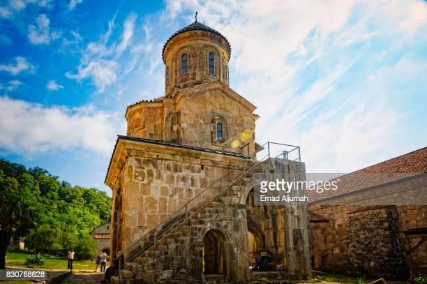St. Nicholas church in Gelati Academy and Monastery complex in Kutaisi, Georgia - June 27, 2017