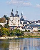 St. Nicolas Church, Blois, Touraine, France