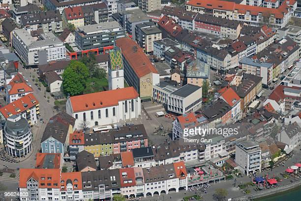 St Nikolaus church in Friedrichshafen centre
