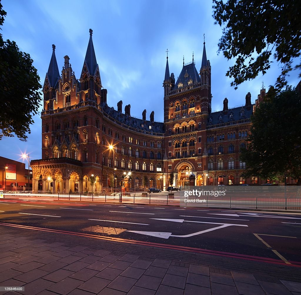 St. Pancras station and Midland Grand Hotel