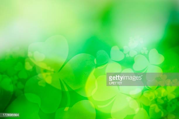 St Patricks Day Abstract