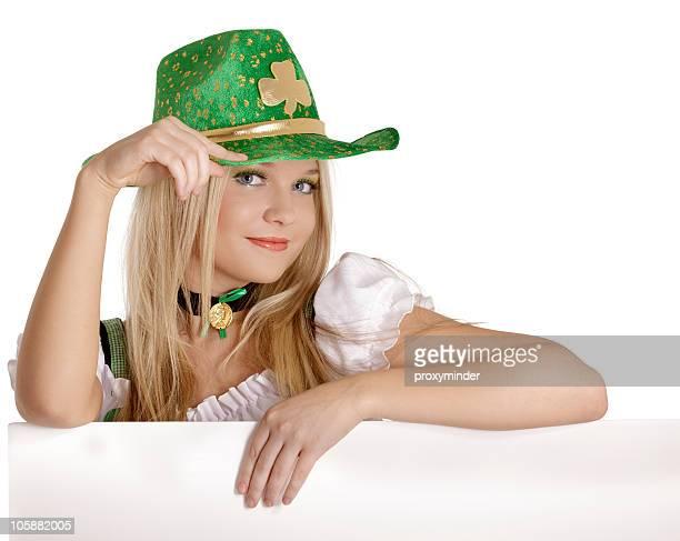 St. Patrick's Day girl