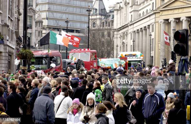 St Patrick's Day parade in central London on Sunday 12 2006 Atmosphere