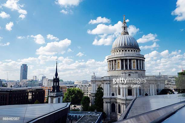 St Paul Cathedral Against Sky