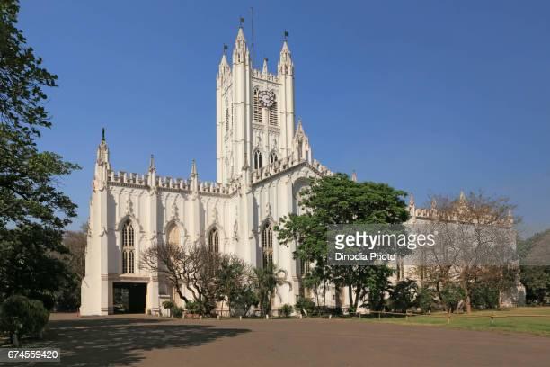 St paul cathedral kolkata west bengal, india, asia