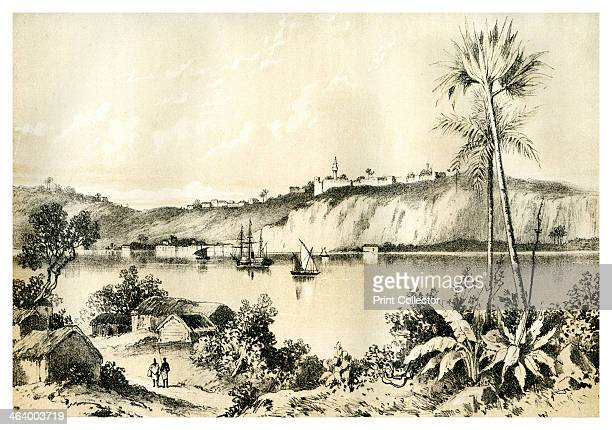 St Paul de Loanda Angola c1854 A print from The Life and explorations of David Livingstone LLD compiled from reliable sources Adam and Co 14 Ivy Lane...