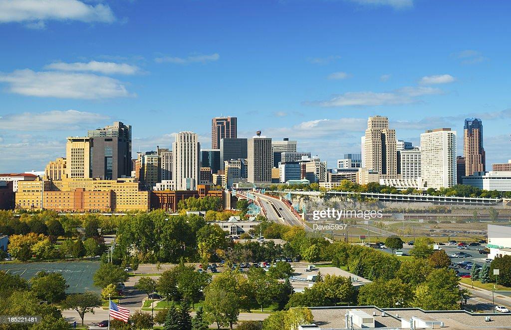 St. Paul downtown skyline