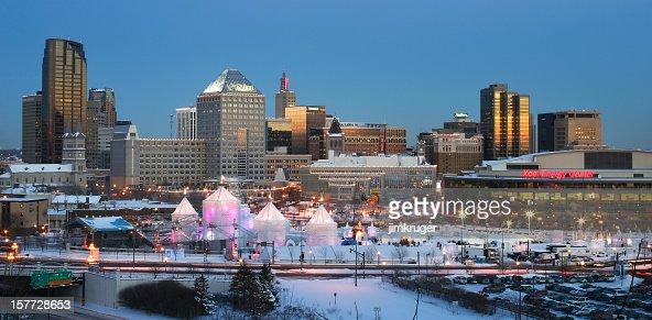 St. Paul Minnesota with Winter Carnival.