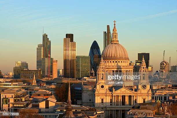 St Paul's Cathedral and the City of London
