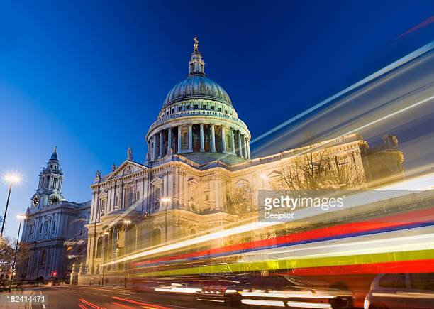 St Pauls Cathedral at Night in London