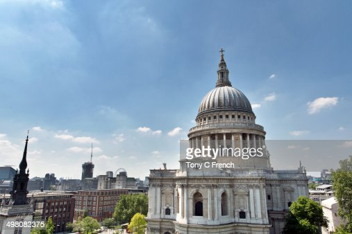 St Paul's Cathedral in London : Stock Photo