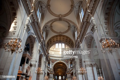 Interior de la catedral de saint Paul's