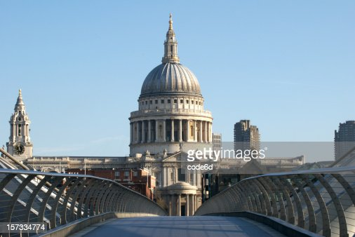 La Catedral de St.Paul, London, espacio de copia