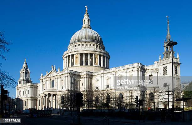 St Paul'S Cathedral London United Kingdom Architect Sir Christopher Wren St Pauls Cathedral Cafe