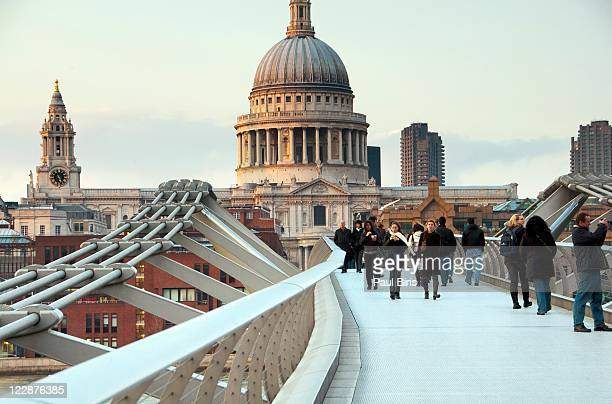 St. Paul's Cathedral & millenium bridge
