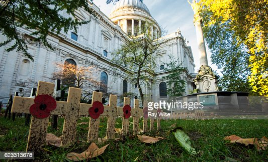 St Paul's on Remembrance Sunday