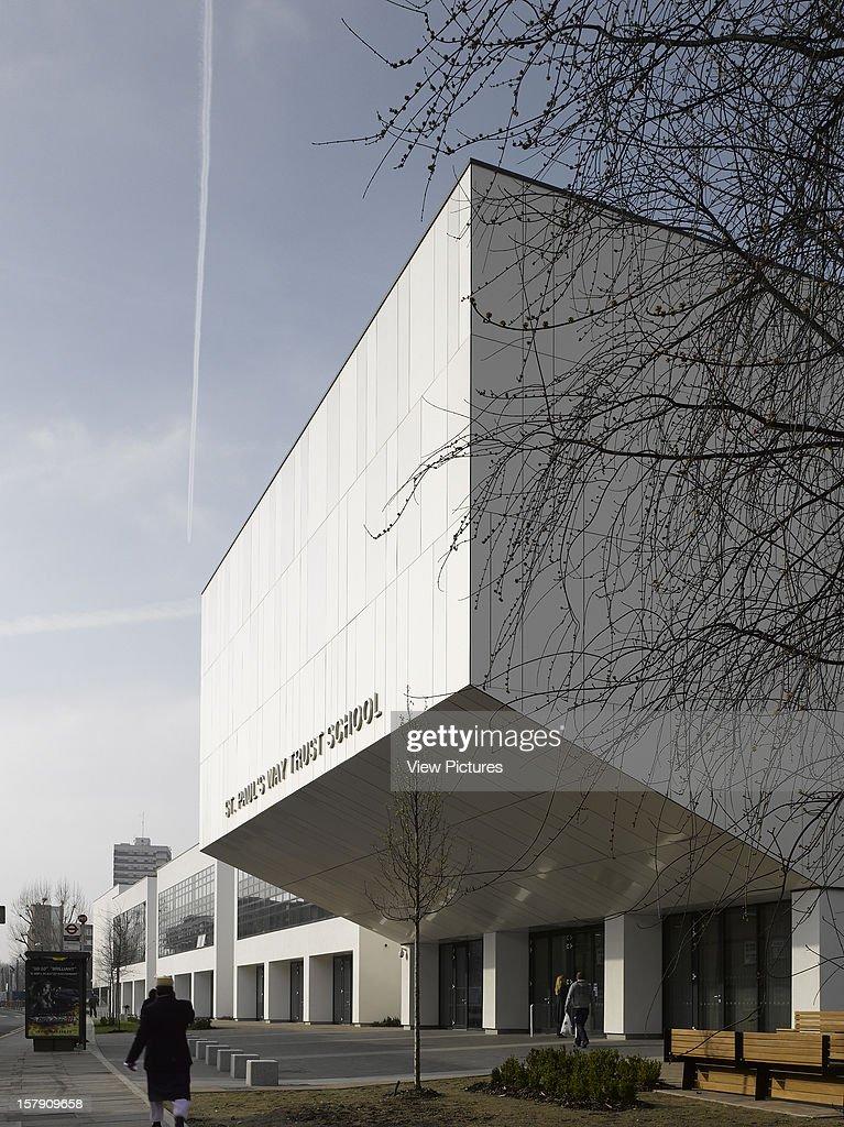 St Paul'S Way Trust School, Astudio, The London Borough Of Tower Hamlets, London, United Kingdom, Architect, .