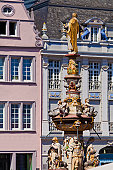 St. Peter fountain at Main Market, Trier