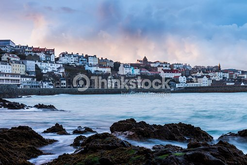 St. Peter Port, Guernsey : Stock Photo