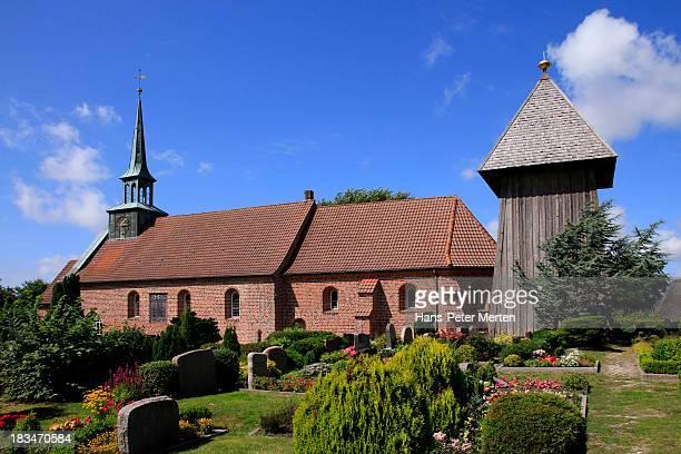 St. Peter-Ording, North Frisia, Church, German