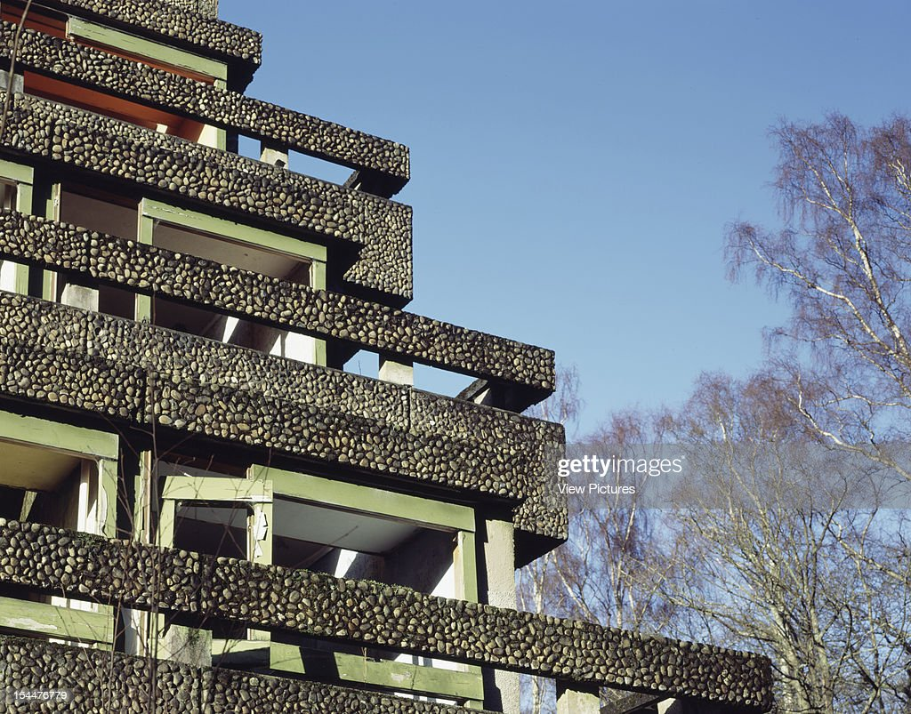 St Peters Seminary Cadross United Kingdom Architect Gillespie Kidd Coia St Peters Seminary Detail Refectory