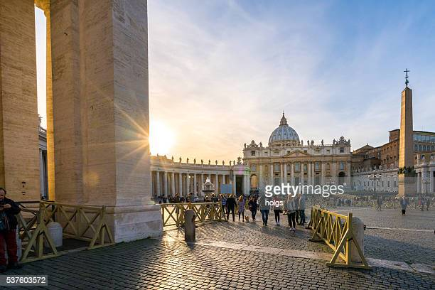St. Peter's Square in Vatican