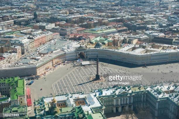 St Petersburg Aerial View